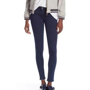 Levi's 535 Super Skinny Studded Jeans